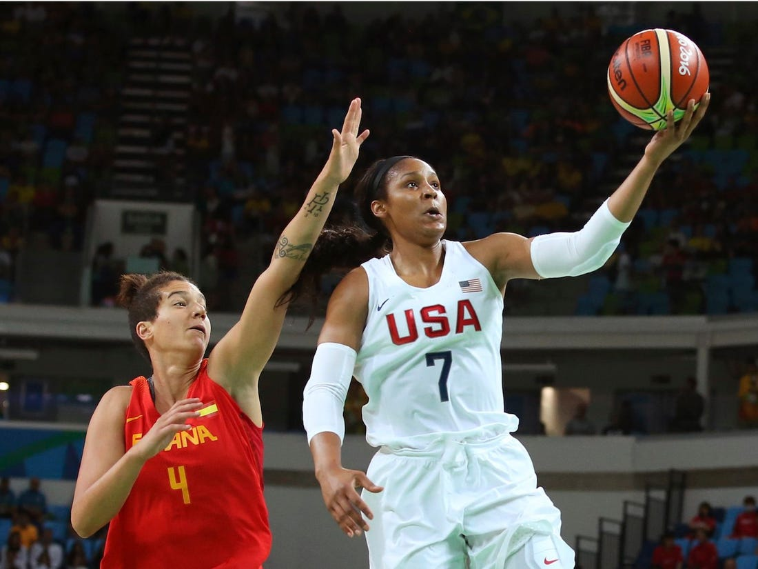 Maya Moore scadere in greutate